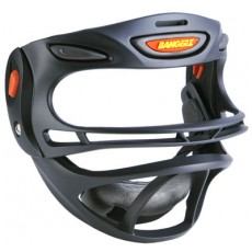 Bangerz Softball Safety Fielder's Mask, Black