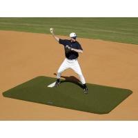 Proper Pitch 417001 Junior Game Baseball Mound, GREEN, 5'4''W x 9'L x 6''H