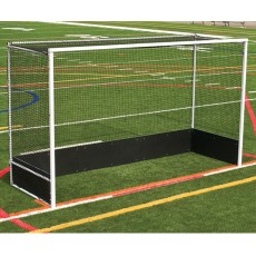 Jaypro Official Field Hockey Goals w/ Bottom Boards, OFHG7124 (pair)