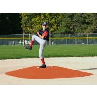 """True Pitch 202-6 Portable Baseball Pitcher's Game Mound, 10' 1""""L x 8'1""""W x 6""""H"""
