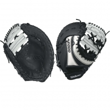 "Wilson 12"" A2000 Superskin Fastpitch First Base Mitt, WTA20RF17BM12S"