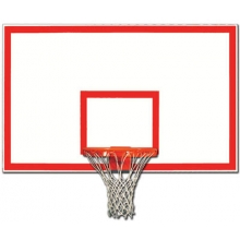 Gared 1272B Rectangular Steel Backboard w/ Border