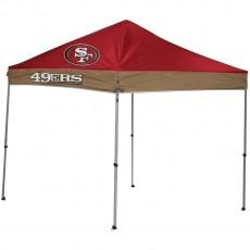 San Francisco 49ers NFL 9x9 Straight Leg Canopy