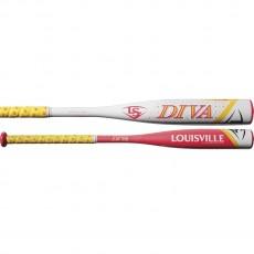 2018 Louisville Slugger Diva -11.5 Youth Fastpitch Softball Bat, WTLFPDV18A115