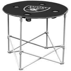 Oakland Raiders NFL Pop-Up/Folding Round Table