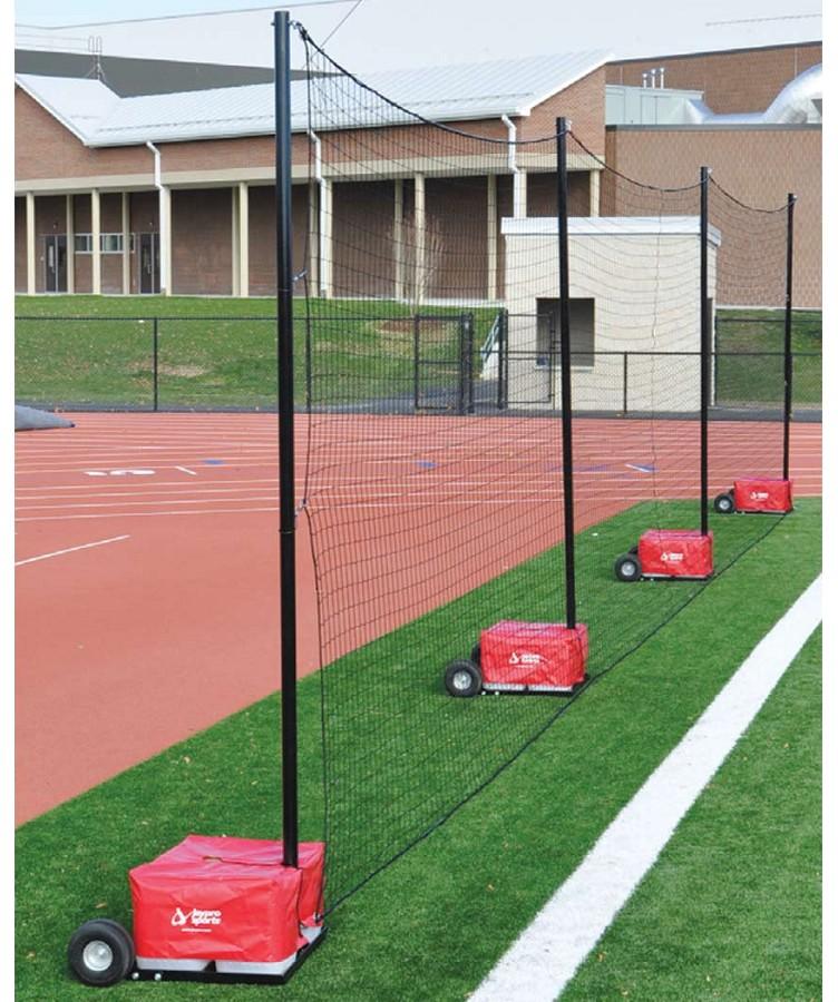 Jaypro Pfn 1260pkg Portable Field Backstop Netting System