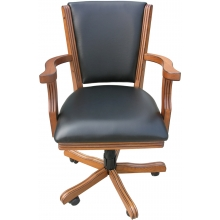 Carmelli Kingston Hardwood Poker Chairs, set of 4