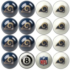 St. Louis Rams NFL Home vs Away Billiard Ball Set