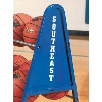 Bison Basketball Cart LETTERING
