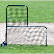Jaypro 7' x 7' Collegiate L-Screen Pitcher's Protector, PS-84