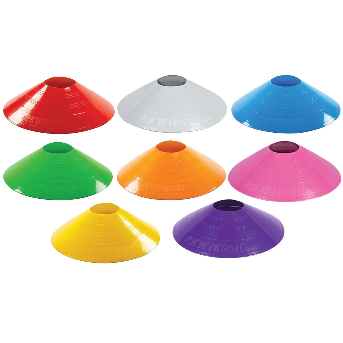 Kwik Goal 6a10 Small Disc Cones 25 Pk