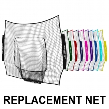 POWERNET 7' x 7' REPLACEMENT Net, Team Colors