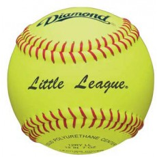 "Diamond 12RYSCLL 47/375 12"" Little League Synthetic Fastpitch Softballs, dz"