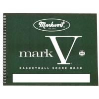 Mark V Official Basketball Scorebook
