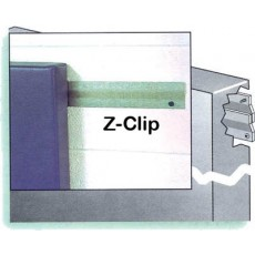 Safety Wall Panel Pads w/ Z-clip Attachment, 2' x 6'