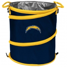 Los Angeles Chargers NFL Collapsible 3-in-1 Hamper/Cooler/Trashcan