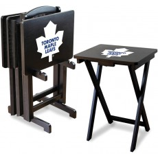 Toronto Maple Leafs NHL TV Snack Tray/Table Set
