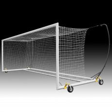 Kwik Goal (pair) 8x24 Pro Premier Portable Soccer Goals w/ SWIVEL Wheels, 2B9006SW
