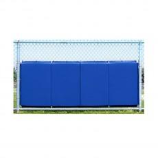 Baseball / Softball Backstop Protective Padding, 3'H x 8'L