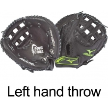 "Mizuno GXS101 Prospect Series Fastpitch Softball Catcher's Mitt, YOUTH, LEFT HAND THROW 32.5"""