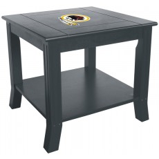 Washington Redskins NFL Hardwood Side/End Table