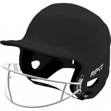 Rip-It VISY Fastpitch Softball Batting Helmet w/Mask, YOUTH
