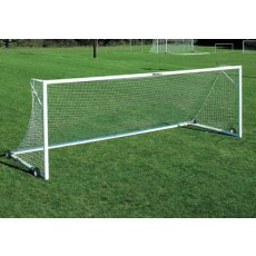 Kwik Goal (pair) Pro Premier European Match Goals w/SWIVEL Wheels, 2B2001SW