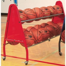 Bison BA185 Heavy Duty Basketball Cart, Holds 18