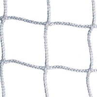 Jaypro SCN-12 Youth Soccer Nets, 3mm, WHITE, 6.5' x 12' (pr)