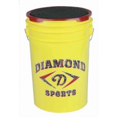 Diamond BKT Y Softball Bucket, Yellow