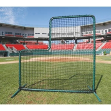 Deluxe Baseball L-Screen Frame & Net, 7' x 7'