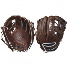 "Wilson A900 WTA09RB18115 Baseball Glove, 11.5"""