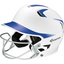 Easton Z5 Fastpitch SENIOR Two Tone Batting Helmet w/ Facemask