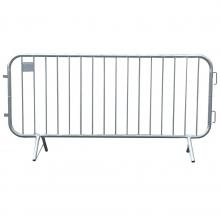 "7'6""L Lightweight Steel Crowd Control Barrier"