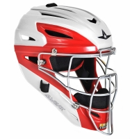 All-Star MVP2510WTT System 7 Catcher's Helmet, YOUTH