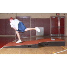 "Promounds MP2031C Professional 2-piece Indoor Pitching Mound, 4'W x 9'L x 10""H, Clay"
