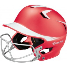 Easton Z5 Grip JUNIOR Two Tone Fastpitch Batting Helmet w/ Facemask