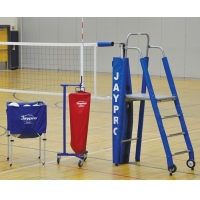 "Jaypro PVB-4PKG PVB-4500 3"" STANDARD Volleyball Net Package"