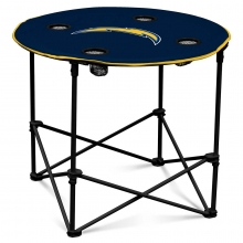 Los Angeles Chargers NFL Pop-Up/Folding Round Table
