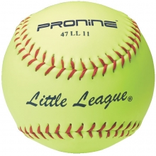 Pro Nine 47 LL11 Official Little League Leather Fastpitch Softball, 11""