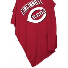 Cincinnati Reds Sweatshirt Blanket