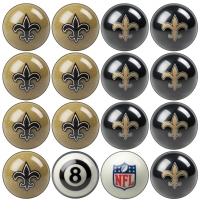 New Orleans Saints NFL Home vs Away Billiard Ball Set