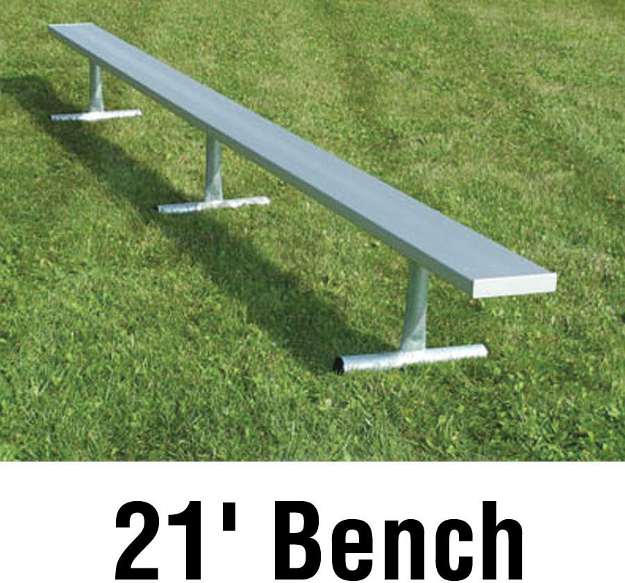 Aluminum Player Bench Portable 21 39