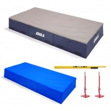 "Gill S1 16'6"" x 8' x 26"" High Jump Pit Value Pack, VP64117"