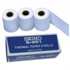 Seiko S951 LARGE Thermal Paper Roll for Stopwatch Printer, 3 pk