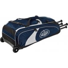 """Louisville Slugger Series 5 Rig Wheeled Equipment Bag, 36""""L x 11.75""""W x 12""""H"""