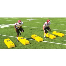 Fisher Stepover Football Dummy, 14''H x 14''W x 50''L