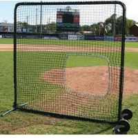 Softball Protective Screen Frame & Net, 7'H x 7'W