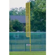 Jaypro 20'H Pro-Style Baseball Foul Poles, BBFP-20 (pair)