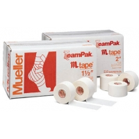 Mueller Zinc Oxide M Tape, 2'' x 15 yds, CASE OF 24